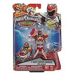Power Rangers - Dino Super Charge 12.5cm Super Charge Red Ranger Figure
