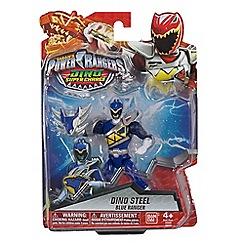 Power Rangers - Dino Super Charge 12.5cm Dino Armed Up Mode Blue Ranger Figure