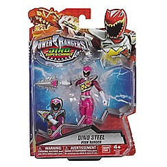 Power Rangers - Dino Super Charge 12.5cm Dino Armed Up Mode Pink Ranger Figure