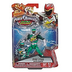 Power Rangers - Dino Super Charge 12.5cm Dino Armed Up Mode Green Ranger Figure