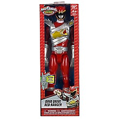 Power Rangers - Dino Super Charge 30cm Drive Mode Red Ranger Figure
