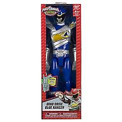 Power Rangers - Dino Super Charge 30cm Drive Mode Blue Ranger Figure
