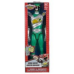 Power Rangers - Dino Super Charge 30cm Drive Mode Green Ranger Figure