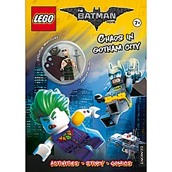Harper Collins - Chaos in Gotham city with excel mini fig (lnc-452)