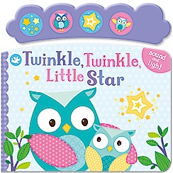 Parragon - Little Learners twinkle twinkle little star playbook