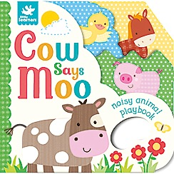 Parragon - Little Learners cow says moo! Playbook