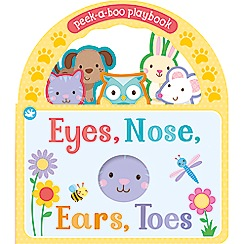 Parragon - Little Learners eyes, nose, ears, toes playbook
