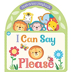 Parragon - Little Learners I can say please playbook