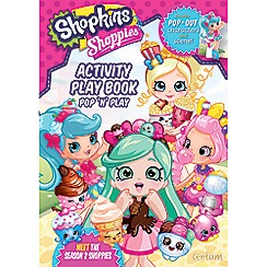 Shopkins - Shoppies Press Out and Play Activity Book
