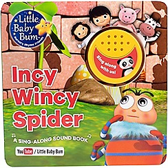 Parragon - Little baby bum incy wincy spider book