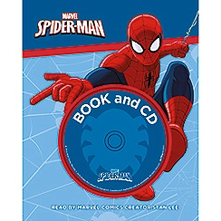 Parragon - Marvel spider-man book and CD