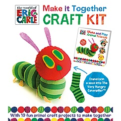 Parragon - The World of Eric Carle animal friends craft kit