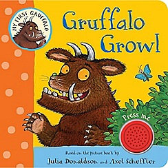 MacMillan books - My First Gruffalo: Gruffalo Growl Book