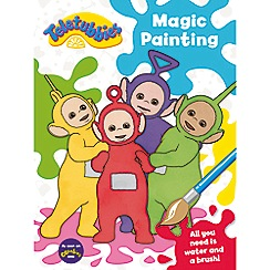 Harper Collins - Teletubbies magic painting book