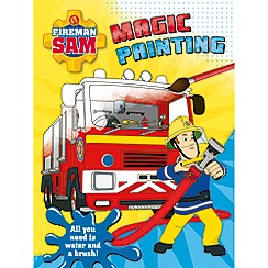 Harper Collins - Fireman Sam magic painting book