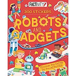 Parragon - Robots and gadgets sticker activity