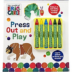 Parragon - The World of Eric Carle press out and play