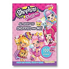 Shopkins - Shoppies Friendship Fun Book