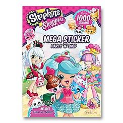 Shopkins - Shoppies Mega Sticker Book