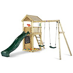 Plum - Lookout tower with swings