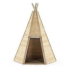 Plum - Great wooden teepee hideaway