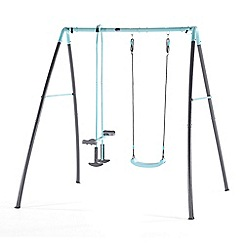 Plum - Single swing with glider & mist