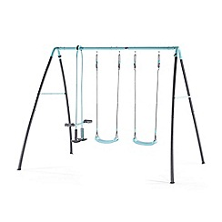 Plum - Double swing with glider & mist