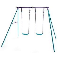 Plum - Metal double swing