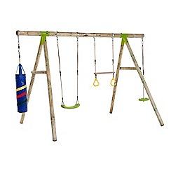 Plum - Capuchin wooden garden set