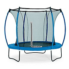 Plum - 10ft trampoline & enclosure blue & lime