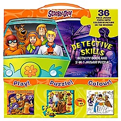 Parragon - Scooby-Doo detective skills 2-in-1 jigsaw puzzle