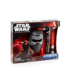 Star Wars - Kylo Ren lightsaber and mask set