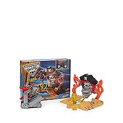 Hot Wheels - Monster Jam Pirate Takedown playset