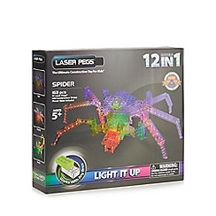 Laser Pegs - 12 in 1 Spider