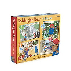 Paddington Bear - Set of four 72 piece jigsaw puzzle