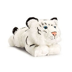Keel - 33cm Laying White Tiger