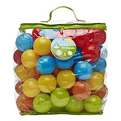 Early Learning Centre - A bag of 100 colourful playballs