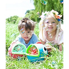 Early Learning Centre - Create lots of bubbles with the Flora the Fish bubble machine in the garden or at birthday parties