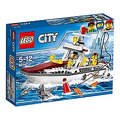 LEGO - LEGO City - Fishing Boat - 60147