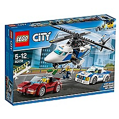 LEGO - Help Chase McCain and the police nab the crook 60138
