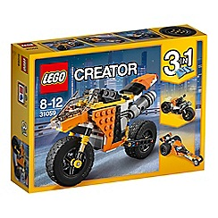 LEGO - LEGO Creator - Sunset Street Bike 31059