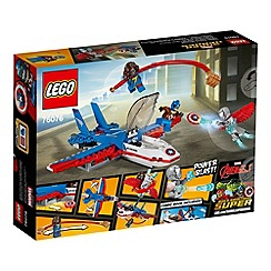 LEGO - LEGO Marvel Superheroes - Captain America Jet Pursuit - 76076