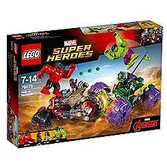 LEGO - Marvel Super Heroes - Hulk vs. Red Hulk - 76078