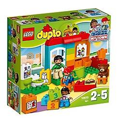 LEGO - LEGO DUPLO - Nursery School - 10833