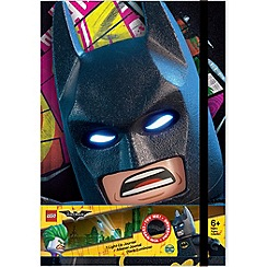 LEGO - The Batman Movie - Movie Light Up Journal