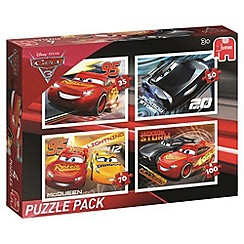 Disney Cars - 4 in 1 Puzzle Bumper Pack