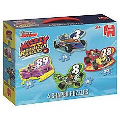 Mickey Mouse Clubhouse - Roadster Racers 4 in 1 Puzzle