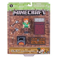 Character Options - Minecraft Alex survival pack