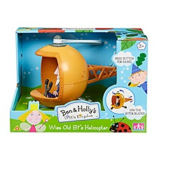 Ben & Holly's Little kingdom - Wise Old Elf's Helicopter with Wise Old Elf Figure