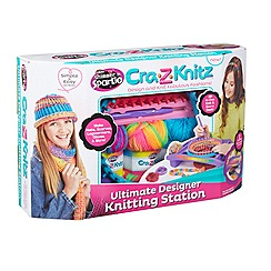Character Options - Shimmer and Sparkle cra-z-knit design set